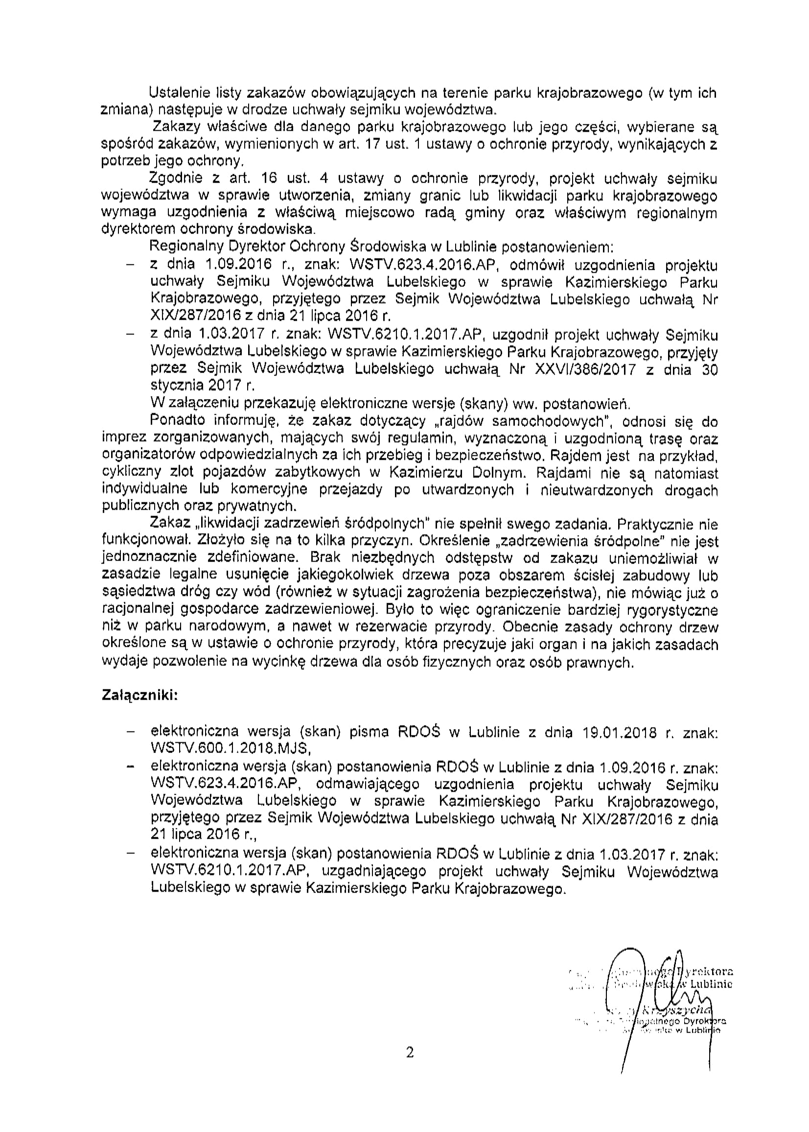 pismo WSI.0123.4.2018 2
