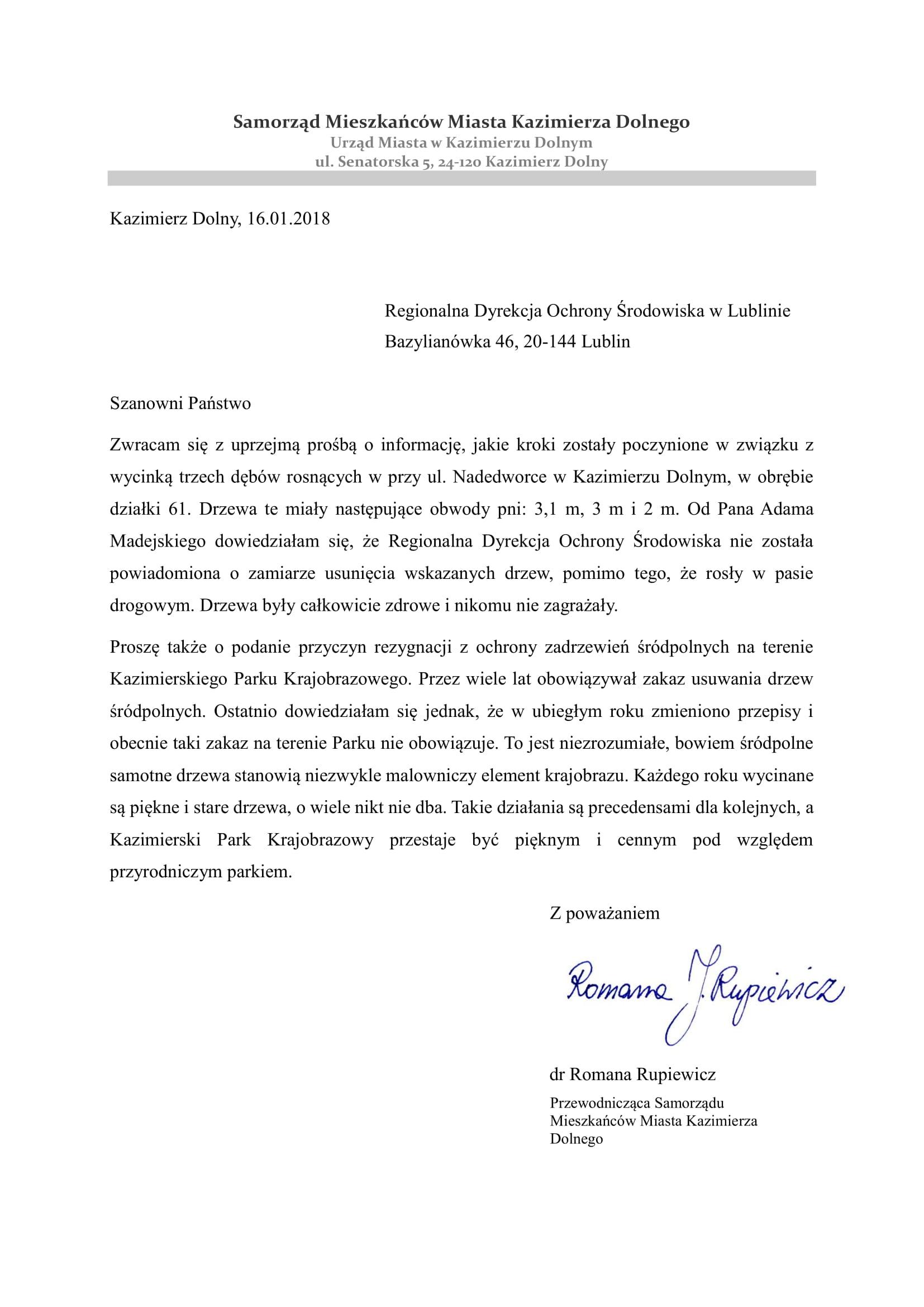 pismo do RDOS 1