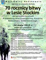 70 rocznica bitwy w Lesie Stockim