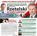 Piotr Rzetelski kandydat do Sejmu.